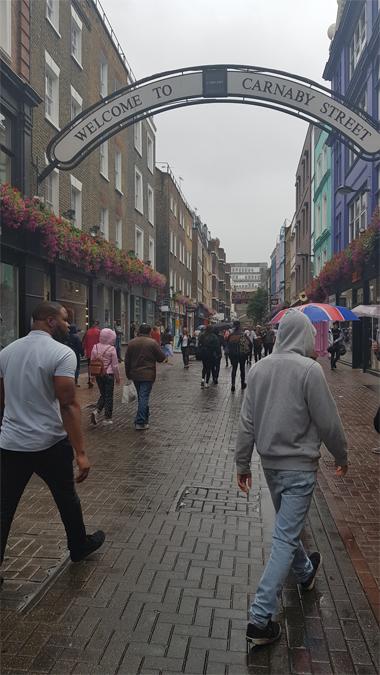 12 hours in London - Carnaby Street