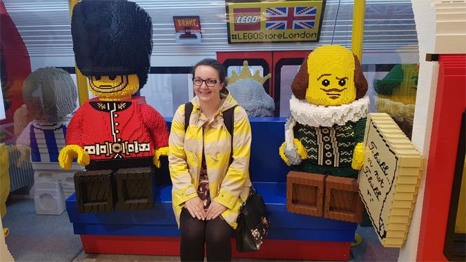 12 hours in London - Lego shop
