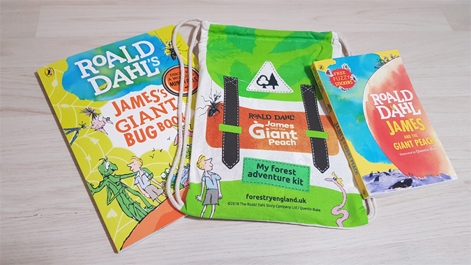 James and the Giant Peach Forest Adventure Kit