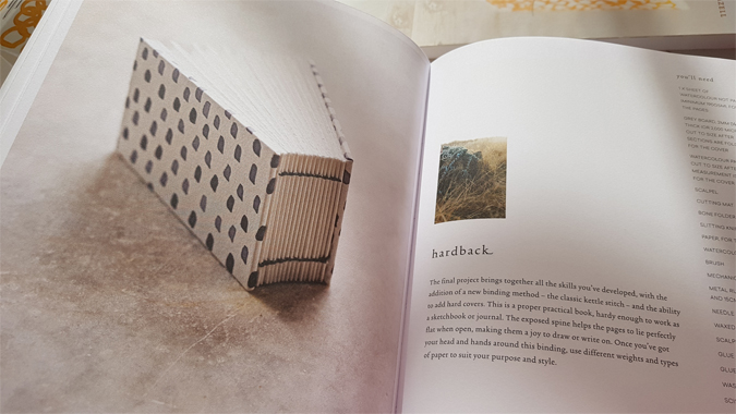 Bound by Rachel Hazell, The Travelling Bookbinder