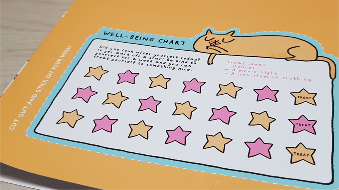 Papergang Gemma Correll self-care box