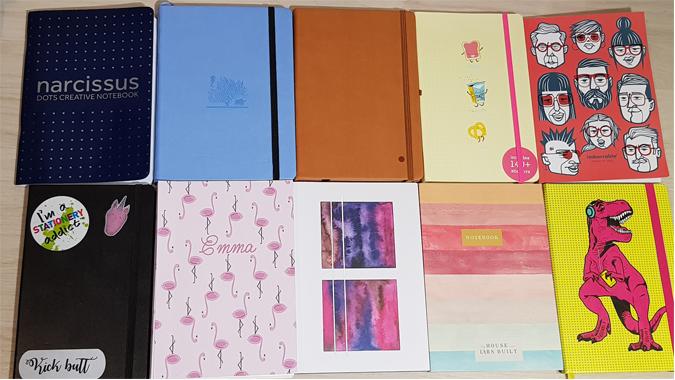 Ten dot grid notebooks reviewed