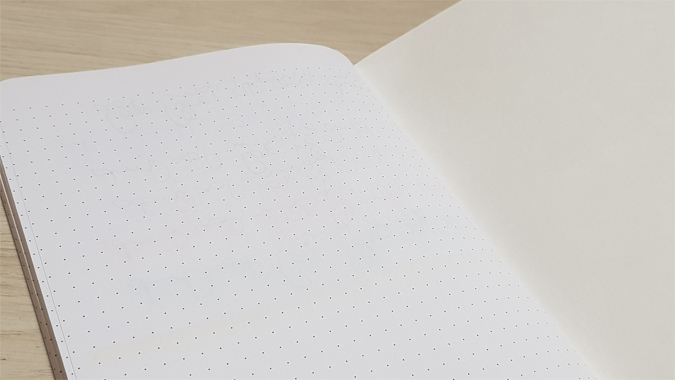 Narcissus Dots Creative Notebook review