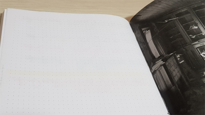 Notebook Lawerta - dot grid notebook review