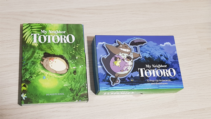 My Neighbour Totoro stationery from Abrams + Chronicle