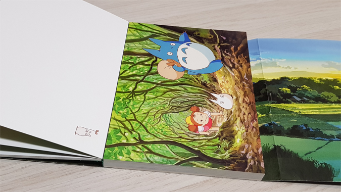 My Neighbour Totoro postcards review