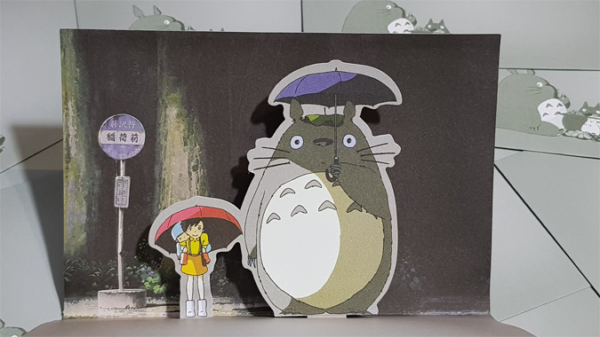 My Neighbour Totoro notecards review