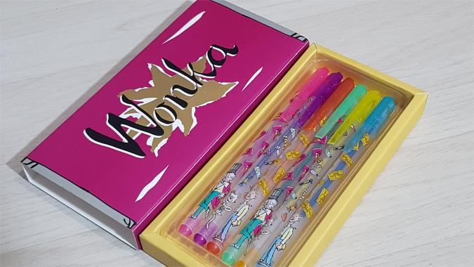 Wonka pens