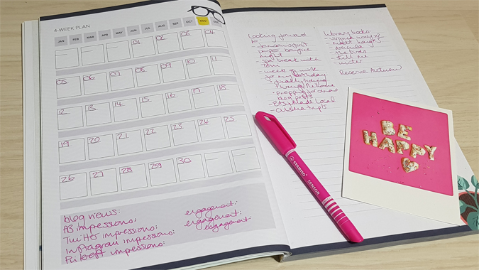 Breathe special Journal 52-week planner review