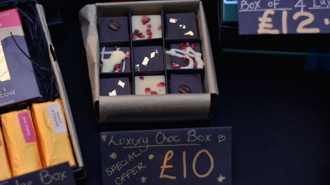 Etsy Made Local St Ives 2018 - Cornwall's Chocolate Cove