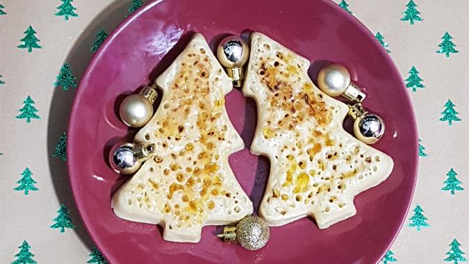 Christmas crumpets