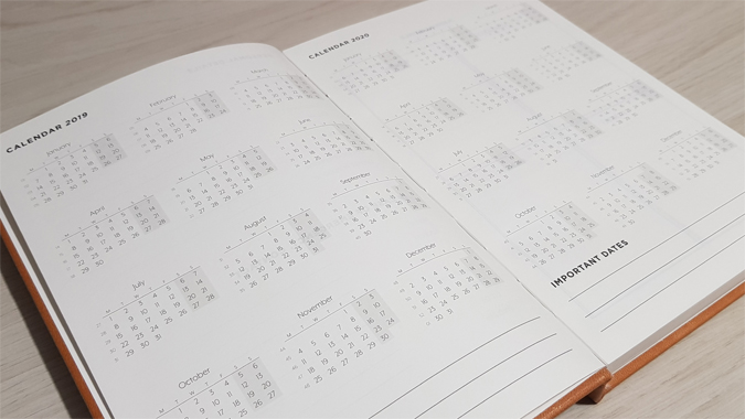 Hex and Ginger 2019 diary