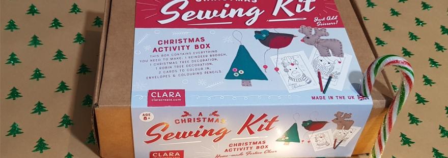 Clara Christmas Sewing Kit