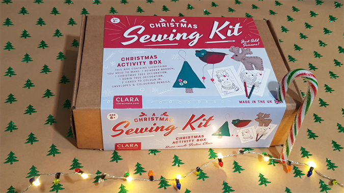 Clara Christmas Sewing Kit