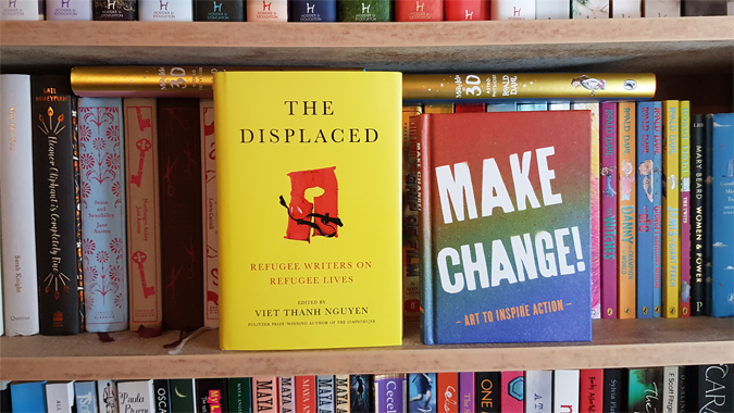 Win copies of The Displaced and Make Change