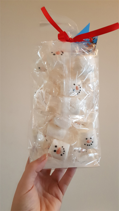 Snowman marshmallows