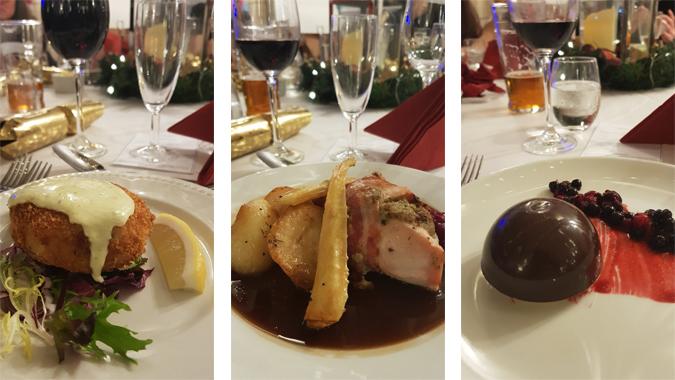 Christmas dinner at The Alverton