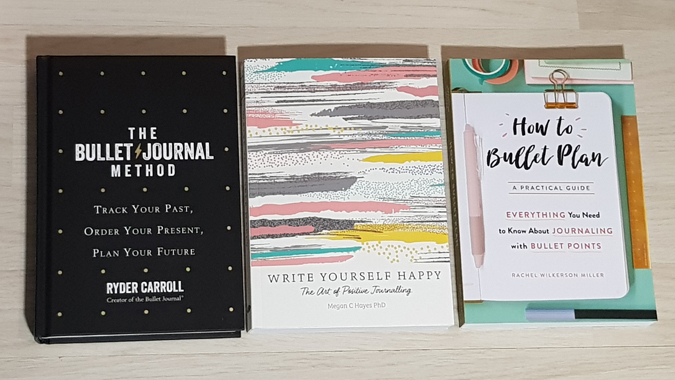 Bullet journal books