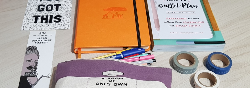My essential bullet journal supplies