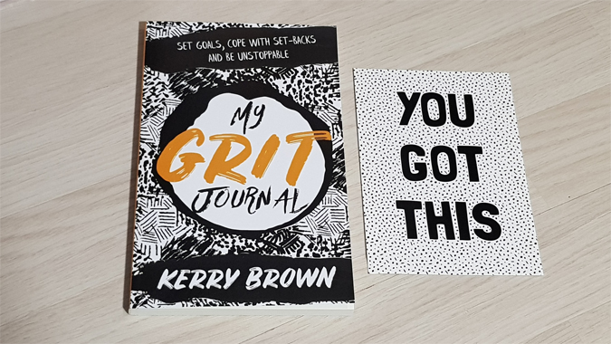 My Grit Journal by Kerry Brown - review