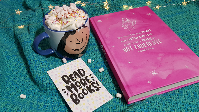Books and hot chocolates