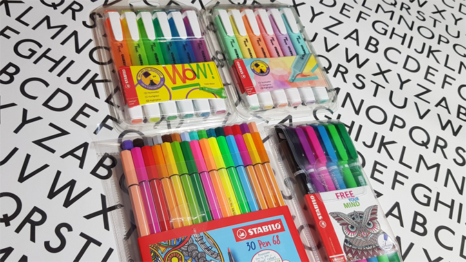 Stabilo pen bundle
