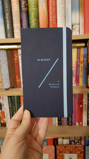 TBR notebook from Abrams + Chronicle