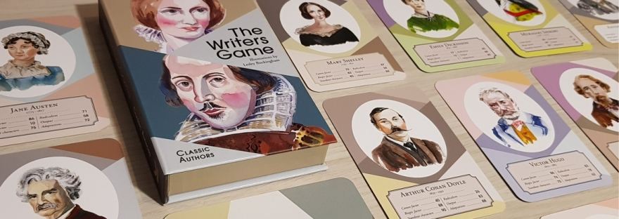 The Writers Game (Classic Authors) by Alex Johnson and Lesley Buckingham