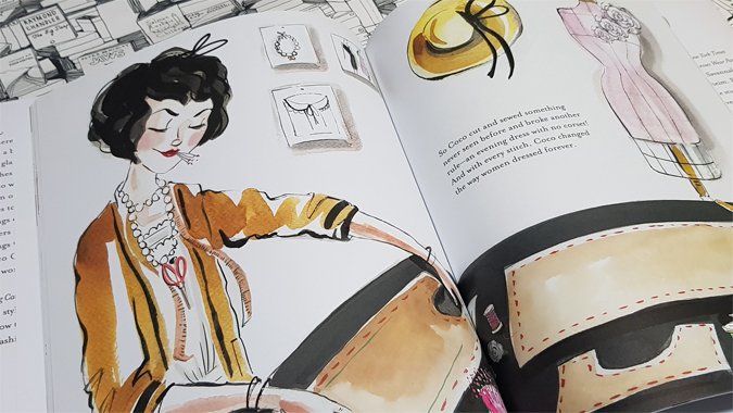 Along Came Coco: A Story About Coco Chanel by Eva Byrne