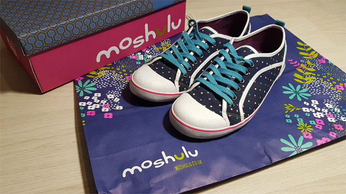 New shoes from Moshulu