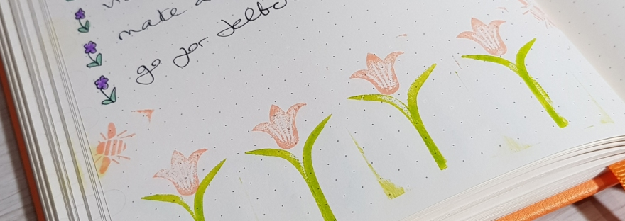 Spring 2019 bucket list - bullet journal update