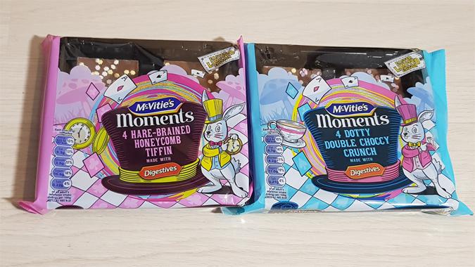 Mcvities packaging