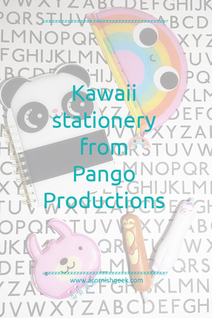 Kawaii stationery from Pango Productions
