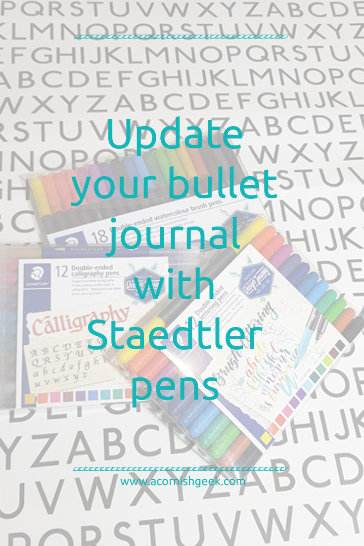 Staedtler pens for journaling