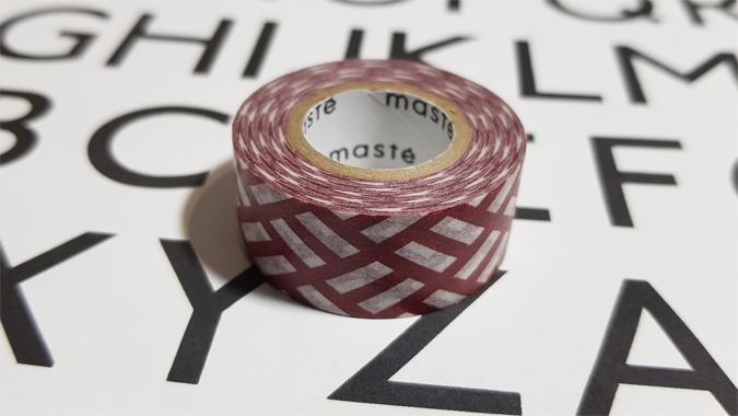 Maste washi tape