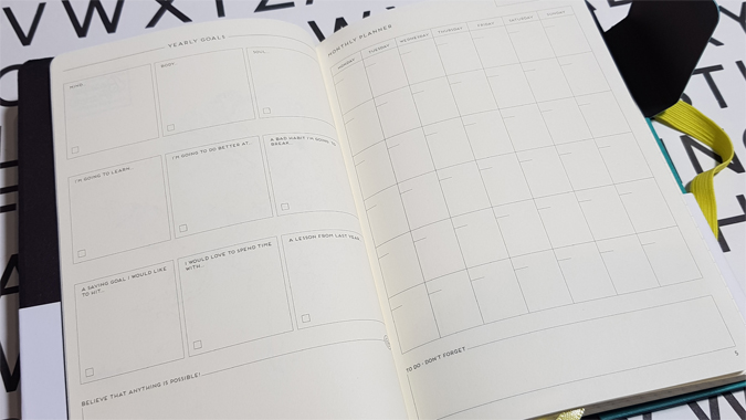 My Notebook Legami bullet journal review