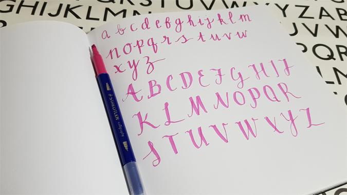 Staedtler calligraphy pens