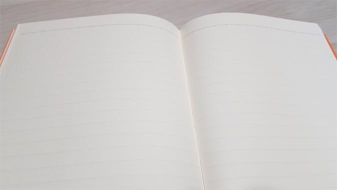 Colourblock pomelo notebook from Go Stationery