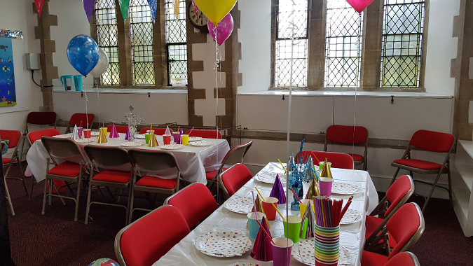 Fourth birthday party