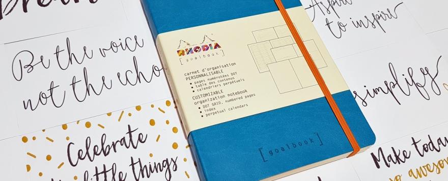 Rhodia Goalbook from Stationery & Art - bullet journal review