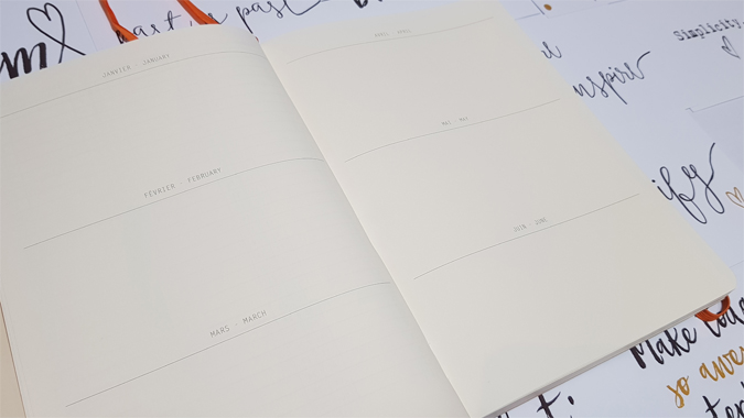 Rhodia Goalbook from Stationery & Art - bullet journal review