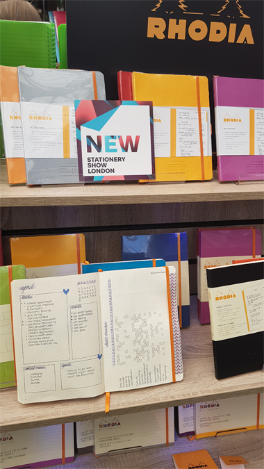 Stationery Show London 2019 - Rhodia