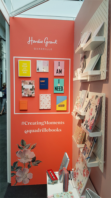 Stationery Show London 2019 - Quadrille