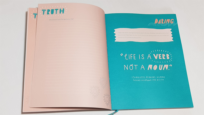 Truth & Daring: A Journal for the Thoughtful & Bold by Sarah O'Leary Burningham & Sarah Walsh - review