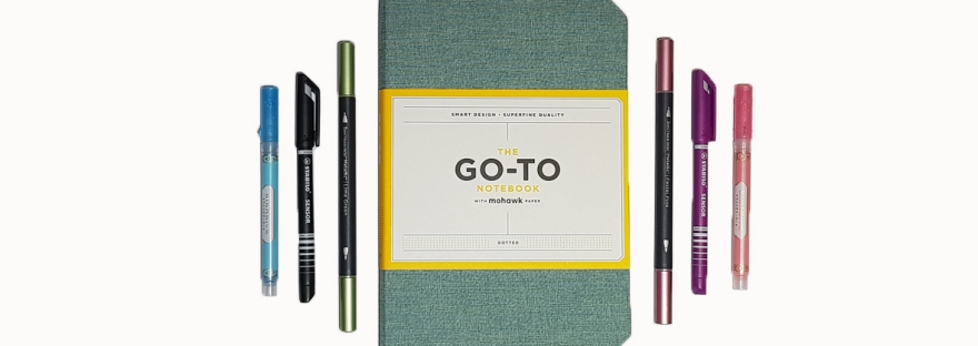 The Go-To Notebook with Mohawk paper - bullet journal review