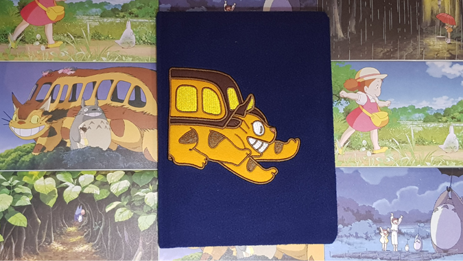 My Neighbour Totoro Catbus Plush Journal