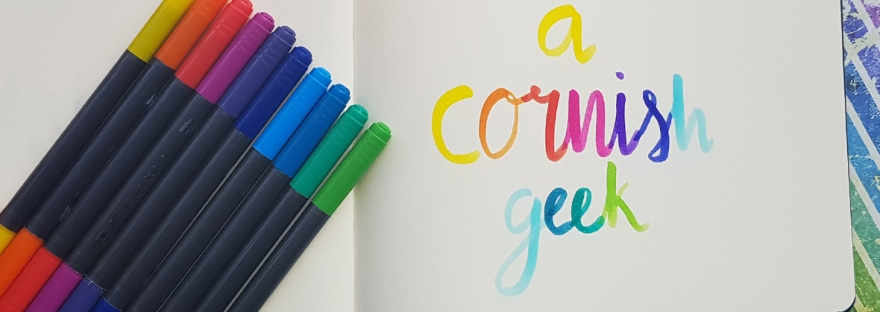 Brush lettering with Staedtler - review