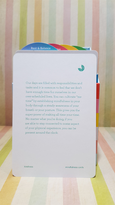Mindfulness Cards: Simple Practices for Everyday Life by Rohan Gunatillake - review