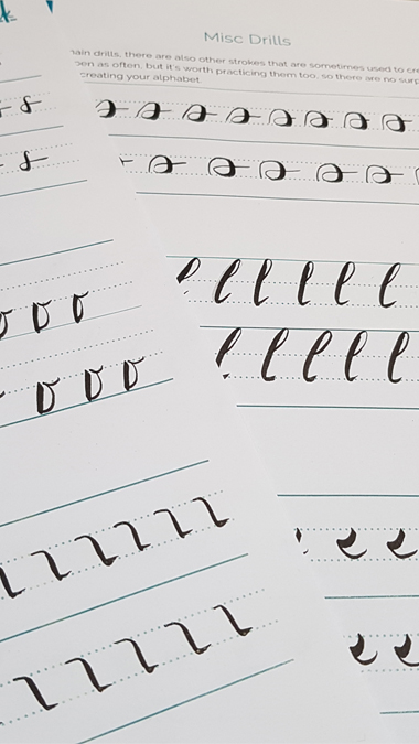 Better Brush Drills with Blink Lettering