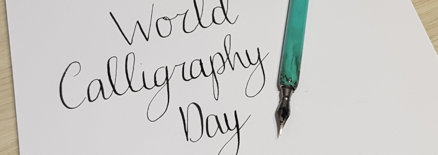 World Calligraphy Day 2019 - Manuscript Pen co reviews